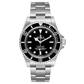 Rolex Submariner 40mm Non-Date 2 Liner Steel Mens Watch 14060 Unworn