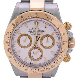 Rolex Daytona 116523 18K Yellow Gold & Stainless Steel 40mm Watch