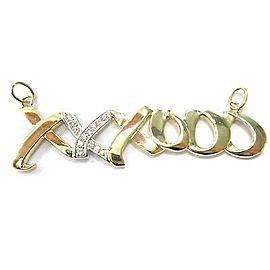 Tiffany & Co. Paloma Picasso Large XO Diamond Pendant
