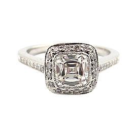 Tiffany & Co. Platinum Legacy Diamond Engagement Ring