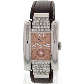Chopard La Strada 8356 Stainless Steel Diamonds Womens Watch