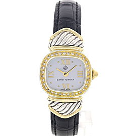 David Yurman Thoroughbred T24694 Mother Of Pearl Diamonds Womens Watch