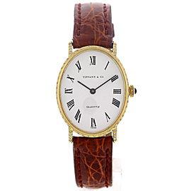 Tiffany & Co. 18K Yellow Gold Diamonds Womens Watch