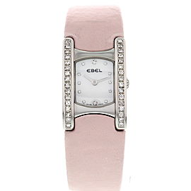 Ebel E9057A21 Beluga Stainless Steel with Diamonds Womens Watch