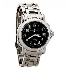 Uylsse Nardin San Marco 203-22 Stainless Steel Automatic 35mm Mens Watch