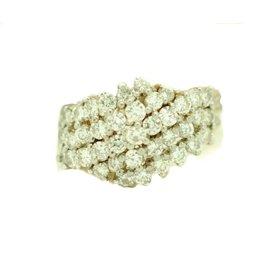 Boucheron Diamond Womens Ring Size 8.25