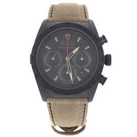 Tudor 42000CN Fastrider Black Shield Ceramic Chronograph Automatic Mens Watch