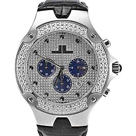 Techno Mania 942 I Stainless Steel & Diamond Dial 44mm Mens Watch