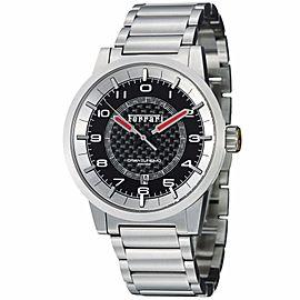 Ferrari Granturismo FE-12-ACC-CM-BK Carbon Fibre Dial Stainless Automatic Mens Watch