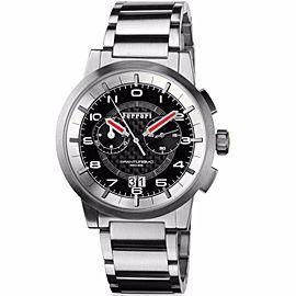 Ferrari Granturismo FE-11-ACC-CM-BK Black Carbon Fiber Dial Stainless Mens Watch