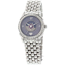 Perrelet Lady Tempest Stainless Steel Mother of Pearl Dial Automatic 30mm Womens Watch