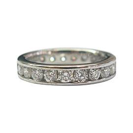 14K White Gold 2.12ct Diamond Wedding Band