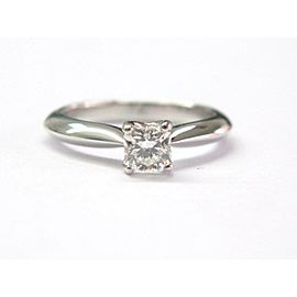 Hearts On Fire 18K White Gold & 0.55ct Diamond Solitaire Engagement Ring