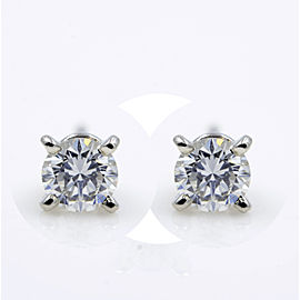 Cartier Stud Earrings Platinum with 0.49ctw Diamond