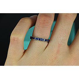 Platinum Sapphire, Diamond Ring