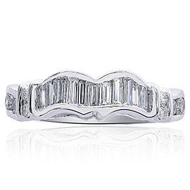 14K White Gold & 1.00ct Diamond Ring Size 8.75