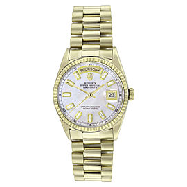 Rolex Day Date 18238 18K Yellow Gold 36mm Mens Watch