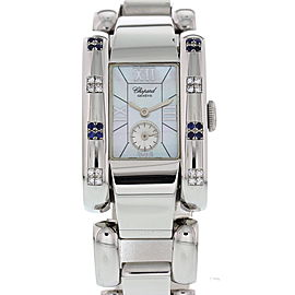 Chopard La Strada 41/8380 Stainless Steel Diamond and Sapphire 24mm Watch