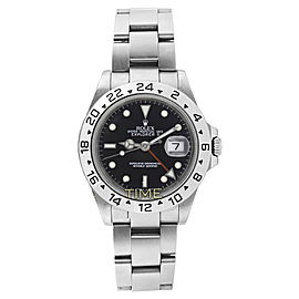 Rolex Explorer II 16570 Oyster Steel Black Dial 24 Hour Bezel Automatic 40mm Mens Watch