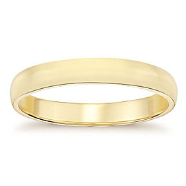 14K Yellow Gold Wedding Band Ring Size 11.25