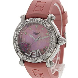 Chopard Happy Sport 28/8950-401 Stainless Steel / Rubber 38mm Womens Watch