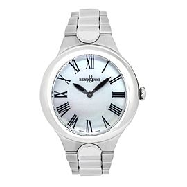 Bertolucci Serena Garbo 303 Stainless Steel Mother of Pearl Dial Quartz 37mm Unisex Watch