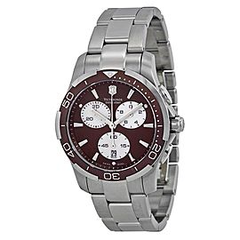Victorinox Swiss Army 241502 Stainless Steel 41mm Quartz Mens Watch