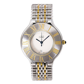 Cartier Must 21 1340 Stainless Steel 28mm Womens Watch