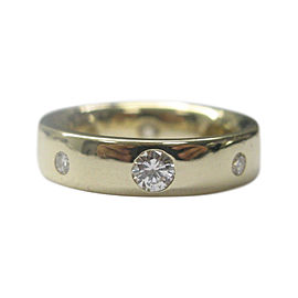 14K Yellow Gold with 1.06ct Diamond Ring Size 9.5