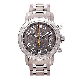 Hermes Paris CP2.941 Titanium & Stainless Steel Automatic 44mm Mens Watch
