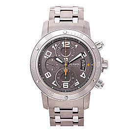 Hermes Paris CP2.941 Titanium & Stainless Steel Automatic 44mm Mens Watch