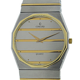 Concord Mariner Stainless Steel & Yellow Gold Quartz 34mm Unisex Watch