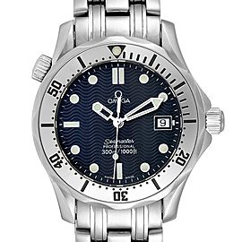 Omega Seamaster 300m Midsize 36mm Steel Mens Watch 2562.80.00 Card
