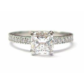 Tiffany & Co. Platinum 1.21ct Diamond Engagement Ring Size 6
