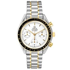Omega Speedmaster Steel Yellow Gold Chronograph Mens Watch 3310.20.00 Card