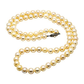 925 Sterling Silver & Pearls Necklace