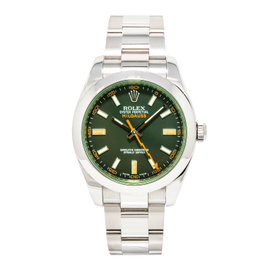 Rolex Milgauss 116400GV Stainless Steel Automatic 40mm Mens Watch