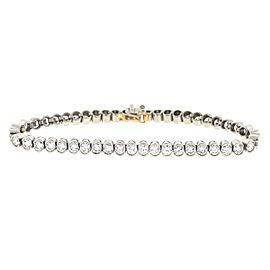 Platinum 9.5ct. Diamond Tennis Bracelet