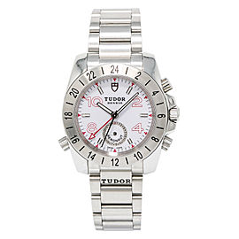 Tudor Aeronaut 20200 Stainless Steel White Dial Automatic 40mm Mens Watch