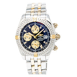 Breitling Chronomat Evolution B13356 Stainless Steel & 18K Yellow Gold Automatic 43mm Mens Watch