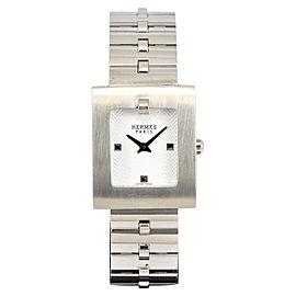 Hermes Belt Watch BE1.110 Stainless Steel Quartz 21.5mm Womens Watch