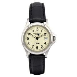 Hamilton Khaki 9771B Stainless Steel & Leather Quartz 27mm Womens Watch