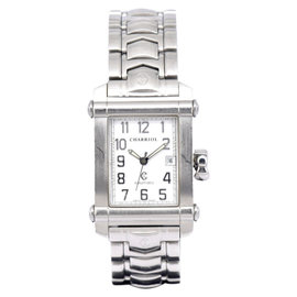 Philippe Charriol COLVMBVS CCAR8 Stainless Steel White Dial Automatic 25mm Unisex Watch