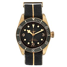 Tudor Heritage Black Bay Bronze Black Dial Mens Watch 79250