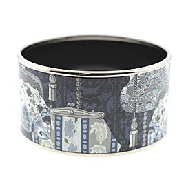 Hermes Silver Tone Hardware Bangle Bracelet