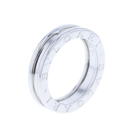 Bulgari B'Zero One 18K White Gold XS Band Ring Size 5.25