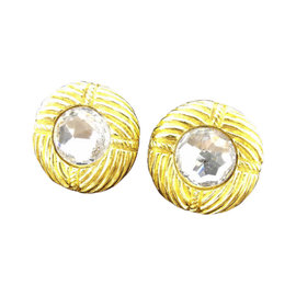 Chanel Gold Tone Hardware Bijou Earrings