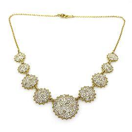Judith Ripka 18K Yellow Gold 10.0ctw Diamond Necklace