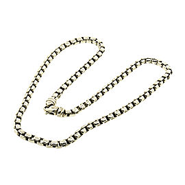 David Yurman 925 Sterling Silver Chain Necklace