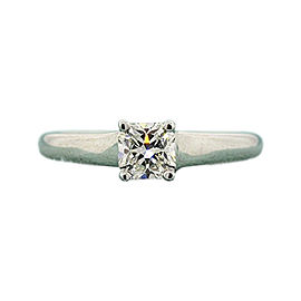 Tiffany & Co. Lucida PT950 Platinum with 0.50ct Diamond Engagement Ring Size 5